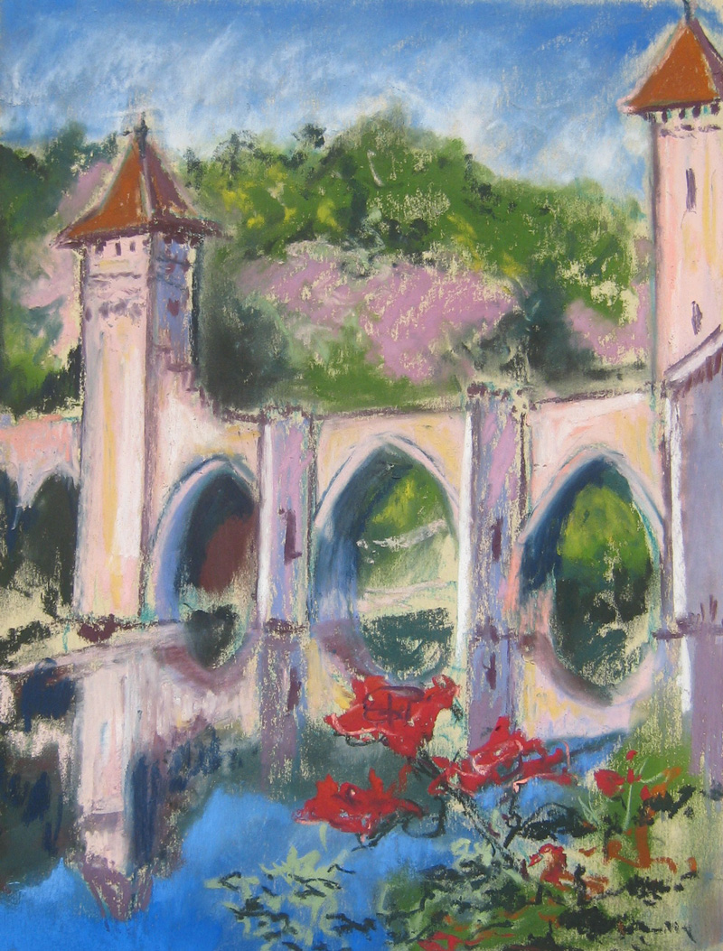 Pont-Valentre---Cahors