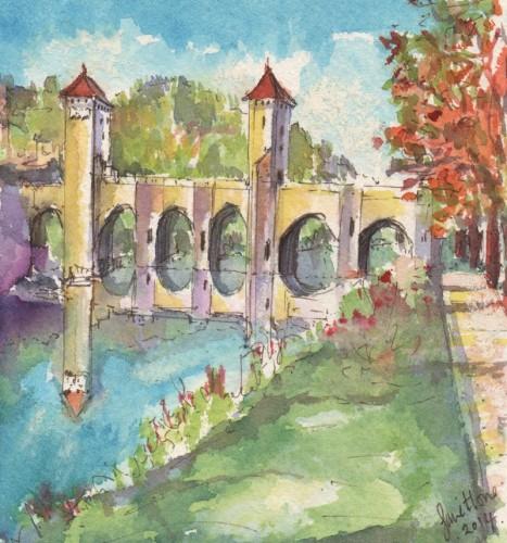 Pont-Valentre-Cahors