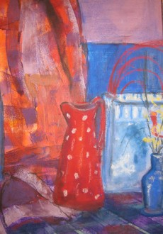 bags-and-bottles-mixed-media