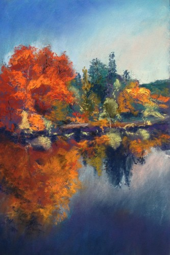 Autumnal Glory of the River Lot