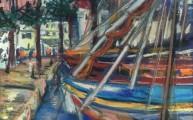 The boats at Sanary