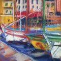 The colours of Sanary harbour