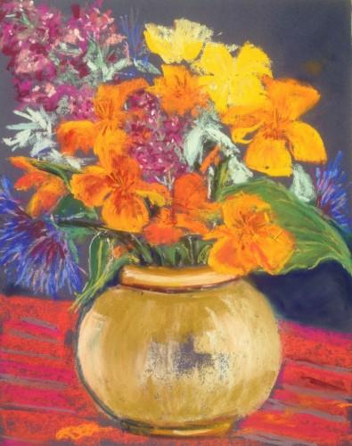Spring garden bouquet (809x1024)