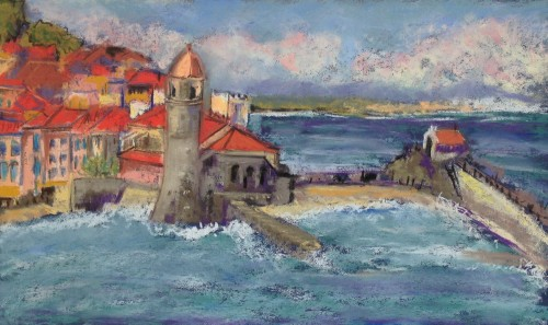 Collioure - after the storm
