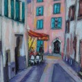 Street cafe in Collioure