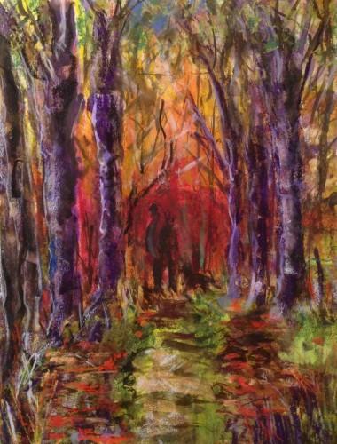 Autumn dog walk (779x1024)
