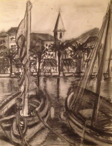 Boats in Provence